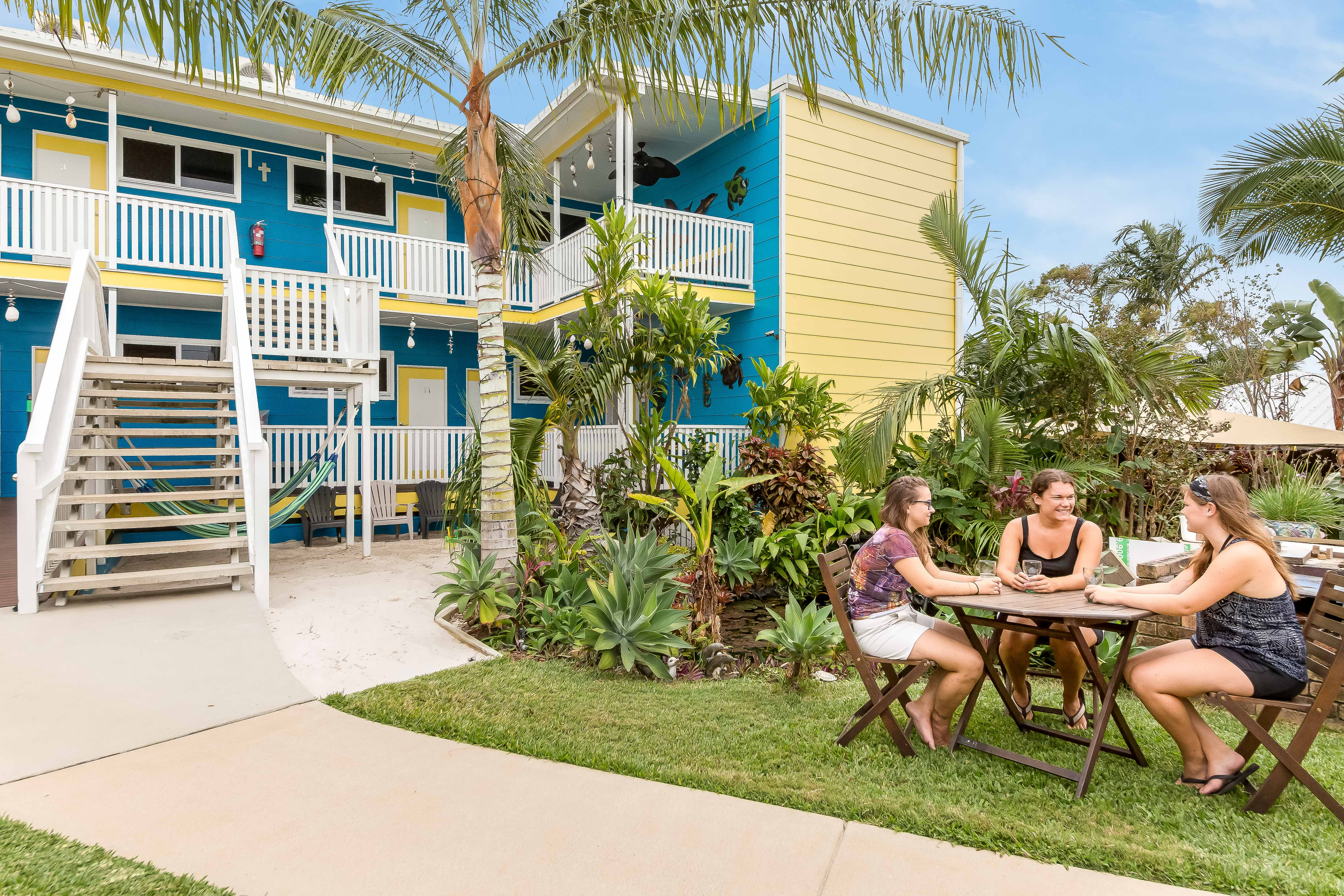 best resort with bed and breakfast attitude in yeppoon qld